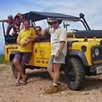 Excursie Curacao - Jeep safari national park
